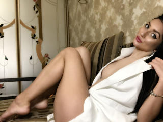 Photo de profil sexy du modèle Arriadna, pour un live show webcam très hot !
