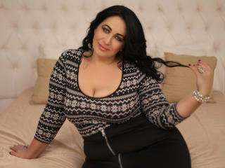 Sexet profilfoto af model BustyLexy, til meget hot live show webcam!