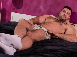 Picture of the sexy profile of HairyDaniel, for a very hot webcam live show !
