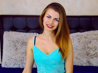 Picture of the sexy profile of Lenge, for a very hot webcam live show !