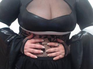 Sexy profilbilde av modellen  MarryHottFontaine, for et veldig hett live webcam-show!