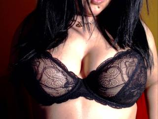 Photo de profil sexy du modèle Rozzy, pour un live show webcam très hot !