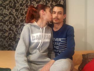 Picture of the sexy profile of VegasCouple, for a very hot webcam live show !