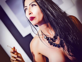CelesteFox69 shaved smoking