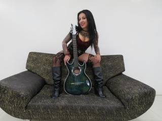 Sexet profilfoto af model AbellaPassion, til meget hot live show webcam!