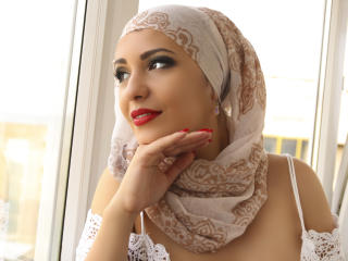Picture of the sexy profile of ArabicAyana, for a very hot webcam live show !