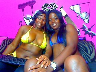Picture of the sexy profile of BlackSexys, for a very hot webcam live show !