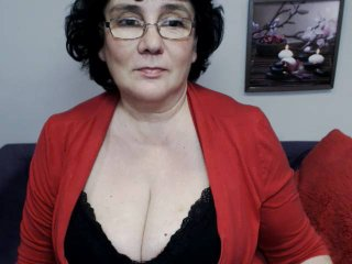 Photo de profil sexy du modèle DorisMature, pour un live show webcam très hot !