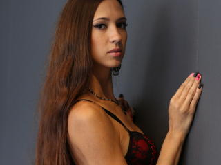 Picture of the sexy profile of ErikaLuxx, for a very hot webcam live show !