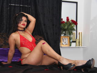 Sexet profilfoto af model FlakaLatin, til meget hot live show webcam!