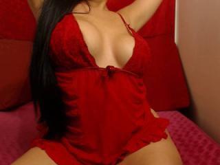 Velmi sexy fotografie sexy profilu modelky HannaBoobsX pro live show s webovou kamerou!