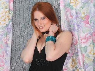 Foto de perfil sexy da modelo Illona, para um live show muito quente!