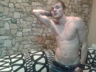 Picture of the sexy profile of JustBradley, for a very hot webcam live show !