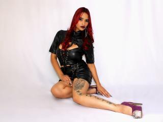 Hình ảnh đại diện sexy của người mẫu KarolineSex để phục vụ một show webcam trực tuyến vô cùng nóng bỏng!