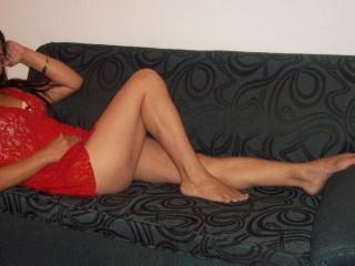 Picture of the sexy profile of Milady, for a very hot webcam live show !