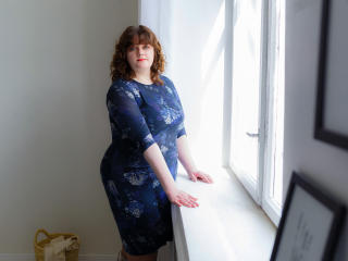Velmi sexy fotografie sexy profilu modelky MollyRiddle pro live show s webovou kamerou!
