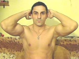 Picture of the sexy profile of MusculeBoy, for a very hot webcam live show !