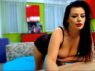 Picture of the sexy profile of Pam, for a very hot webcam live show !