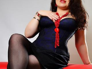 Sexet profilfoto af model PriscillaHotMature, til meget hot live show webcam!