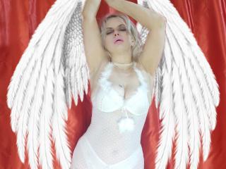 Velmi sexy fotografie sexy profilu modelky RebeccaDarling pro live show s webovou kamerou!