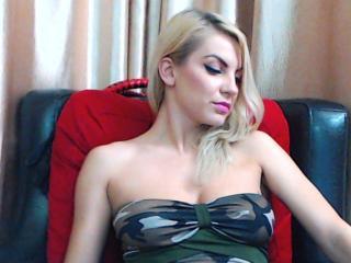 Velmi sexy fotografie sexy profilu modelky SexTerapy pro live show s webovou kamerou!