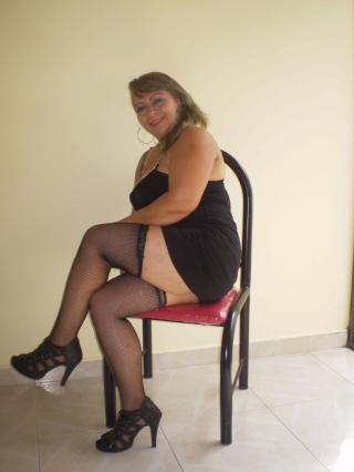 Picture of the sexy profile of SusyStorm, for a very hot webcam live show !