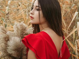 Velmi sexy fotografie sexy profilu modelky UrFutureGF pro live show s webovou kamerou!