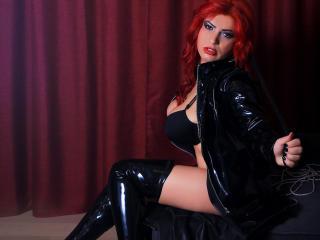 Velmi sexy fotografie sexy profilu modelky Yourdevotedevil pro live show s webovou kamerou!