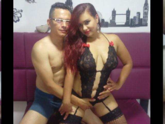 Picture of the sexy profile of ArdentJuiceCouple, for a very hot webcam live show !