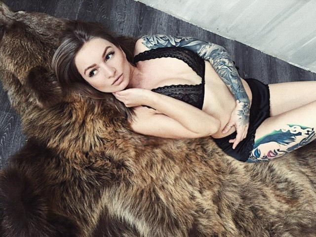 Velmi sexy fotografie sexy profilu modelky HelenTouch pro live show s webovou kamerou!