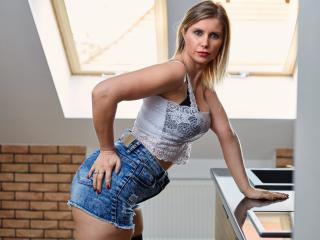 DoorenHot - Live sex with a gold hair Sexy mother