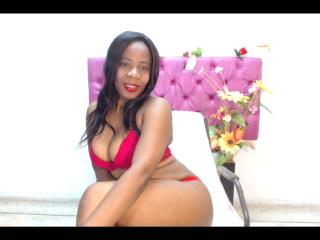 Lizalein - Chat cam nude with a dark-skinned MILF