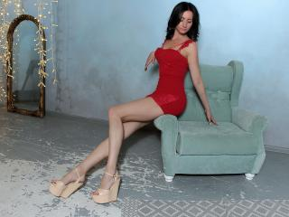 JennySpring - Live chat porn with this black hair Hot young and sexy lady