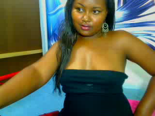Picture of the sexy profile of BlackHottie, for a very hot webcam live show !
