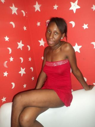 Picture of the sexy profile of GoddessBlack, for a very hot webcam live show !