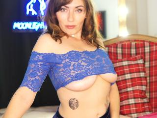 Sexet profilfoto af model JaneisSexy, til meget hot live show webcam!