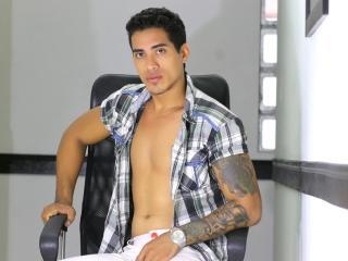 Foto de perfil sexi, da modelo ArthurAsher, para um live show webcam muito quente!