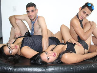 AmzingGroupV - Webcam x with this Sexual quartet