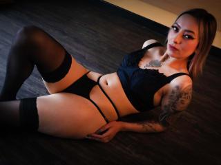 Sexet profilfoto af model KathyMorriss, til meget hot live show webcam!