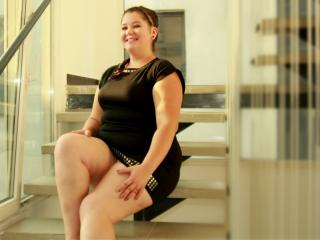 Picture of the sexy profile of CurvyDollBB, for a very hot webcam live show !