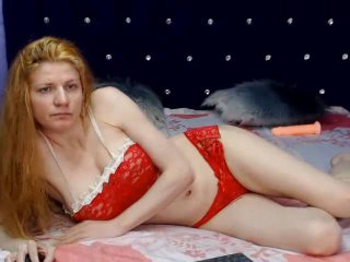 Sexet profilfoto af model ChaudeCamilleX, til meget hot live show webcam!