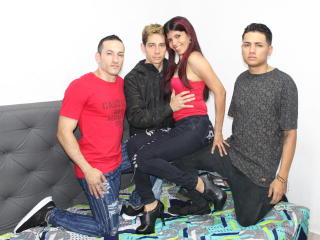 NewMarceAnThreBoys - Live chat sexy with a Sexual quartet