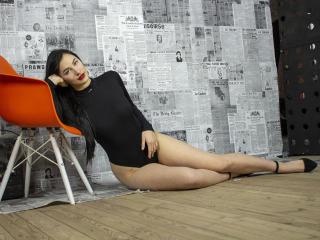 Foto de perfil sexi, da modelo SugarWallss, para um live show webcam muito quente!
