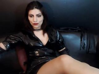 Picture of the sexy profile of Dhot, for a very hot webcam live show !