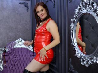 Bild på den sexiga profilen av TheKinkyLove för en väldigt het liveshow i webbkameran!