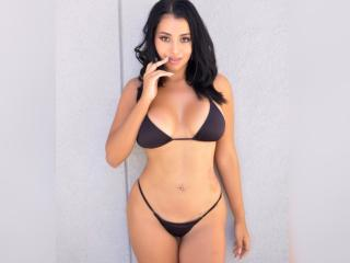 Photo de profil sexy du modèle AmyHoneyCute, pour un live show webcam très hot !