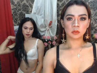 TwoSEDUCTIVEtrans - chat online sexy with a asian Trans couple