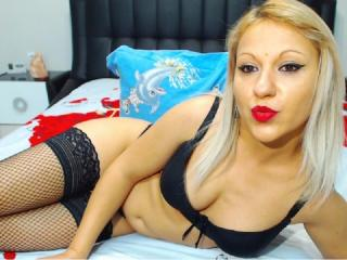 Picture of the sexy profile of KynkySilvie, for a very hot webcam live show !