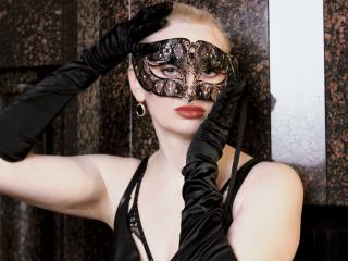 Sexet profilfoto af model SharonLight, til meget hot live show webcam!