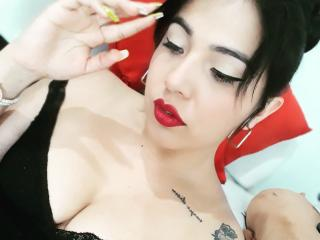 Photo de profil sexy du modèle NatyKyle, pour un live show webcam très hot !